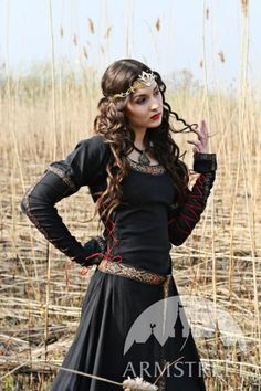 "I found 'Store — Clothes — Medieval Black Cotton Dress ""Lady Hunter""' on Wish, check it out!"