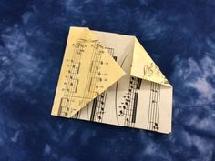 tutorial: origami 5 part star | Lyric Art