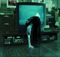 Samara - I picked up an old tv from Goodwill for $1.99 and a strobe light from Biglots for very reasonable. I still need a stand to put the tv on. I got a long straight black wig also from Goodwill.