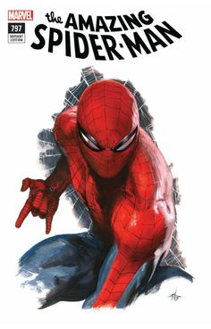 The Amazing Spider-Man #797 (2018) Fan Expo 2018 Exclusive Variant Cover by Gabriele Dell'Otto