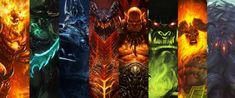World Of Warcraft, Crash Bandicoot, God Of War, League Of Legends, The Expanse, Panel, Classic, Videogames, Painting