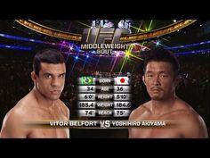 UFC 204 Free Fight: Vitor Belfort vs Yoshihiro Akiyama
