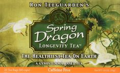 Dragon Herbs Spring Dragon Longevity Tea Caffeine Free -- 20 Tea Bags ** Find out more about the great product at the image link. (This is an affiliate link) #TeaSamplers