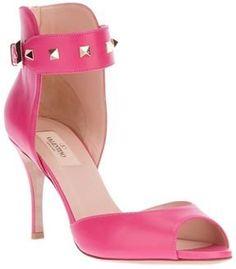Valentino Garavani Studded peep toes sandals