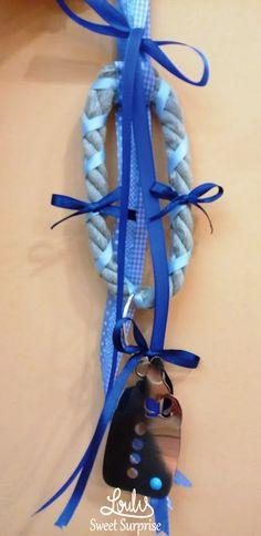 Δισκοσμητικό κρεμαστό γούρι #loulis_sweet_surprise #diaper_cake #gift_for_baby