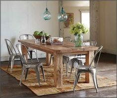 ... Modern Rustic Dining Chairs