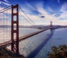 The Golden Gate Bridge - San Francisco - California, USA