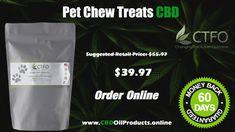 CBD Oil Pet Chew Treats | CTFO - Changing The Future Outcome