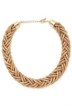 Braided Chain Necklace | Forever 21  #accessorize