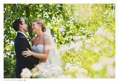 Our wedding day! Lake Forest Summer Wedding At Elawa Farm - Dawn E Roscoe Photography