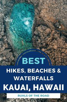 The best Kauai beaches, Kauai hiking, Kauai waterfalls! Top hikes in Kauai, Hawaii & the best things to do on your Kauai trip. Visit the best Hawaii island with this kauai itinerary. Kauai Beach Resort, Kauai Vacation, Hawaii Honeymoon, Vacation Spots, Italy Vacation, Oahu, Kauai Hawaii, Kauai Snorkeling, Kauai Things To Do