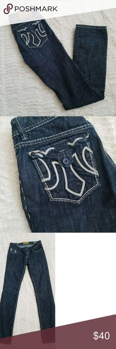 MEK Denim Like new MEK Denim. These are a men's cut but I'd wear them as comfy boyfriend fit. MEK Jeans