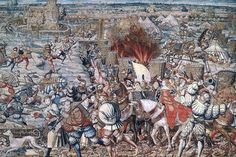 in 1525 won Karel de slag van Pavia