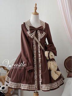✦Cheap Lolita Dresses✧: Gothic Lolita Dress, Jumpers and Kawaii Dress, Kawaii Clothes, Pretty Outfits, Pretty Dresses, Cute Outfits, Kawaii Fashion, Lolita Fashion, Gothic Lolita Dress, Girl Outfits