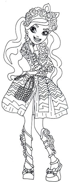 1000 Images About Ever After High Coloring Pages On
