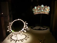 Marie-Louise Diadem's Necklace and Crown, via Flickr.