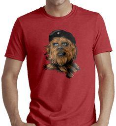 T-Shirt  Chewie guevara detournement parodie humour che fun