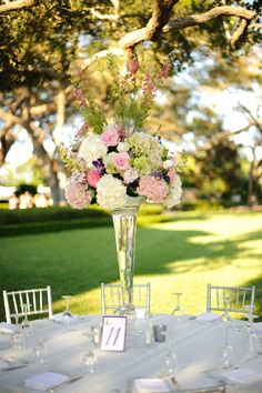 love the flower arrangement! The mix of flowers is beautiful and soft at the same time!