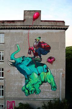 Lodz amongst 20 of the best cities to see street art by Bored Panda. #lodz #streetart #poland
