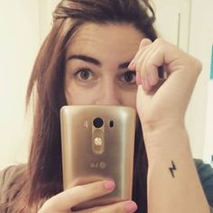 For Potterheads. | 19 Tiny Tattoos You Won't Have Trouble Committing To /// Some of these are really bad.