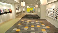 Amtico Hexagon Resilient Flooring NeoConn 2013