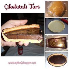 Sable hamuru ile çikolatalı tart yapımı detaylı anlatımı için: www.cafebella.blogspot.com