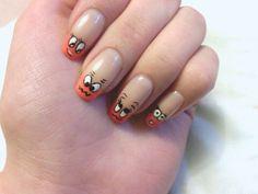 Free hand! :) Nail Care, My Nails, Free, Beauty, Cosmetology, Nail Manicure, Nail Repair