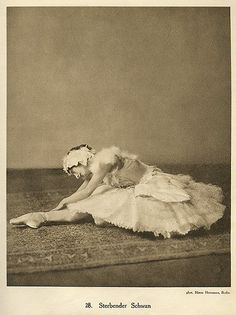 Anna Pavlova, costume by Leon Bakst for Swan Lake, 1905 |  Hearted from: http://www.flickr.com/photos/gatochy/3397069861/in/set-72157625564003501