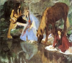 "Degas - Mademoiselle Fiocre in the Ballet ""La Source"" c. 1866"