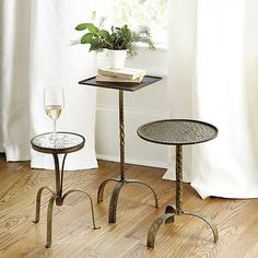 Suzanne Kasler Metal Accent Tables