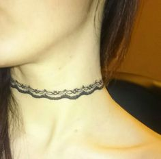 Chocker necklace made by me @fotdoul