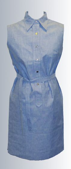 1960s Cotton Summer Shirt Dress from www.sixesandsevensvintage.com at £18.00  Size 10. Retro Vintage Dresses, Retro Dress, Dresses For Sale, Summer Dresses, 1960s, Size 10, Shirt Dress, Cotton, Shirts