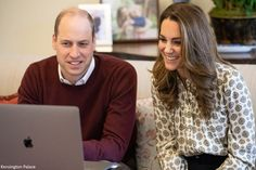 Duchess Kate: The Duchess in Michael Kors for Future Men Virtual Call Duchess Kate, Duchess Of Cambridge, English Royal Family, Prince William And Kate, British Royals, Engagements, Royalty, Michael Kors, Future