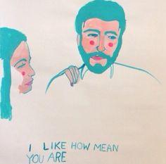 Jane W. Sheldon / not like - Love. Illustration Design Graphique, People Illustration, Art Et Illustration, Art Graphique, Pattern Illustration, Inspiration Art, Collage, Wow Art, Zine