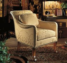 Melody Chair from the Henredon Upholstery collection by Henredon Furniture