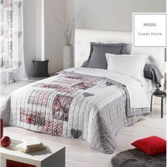 Kvalitné prikrývky na dvojposteľ svetlo sivé Comforters, Blanket, Bed, Nova, Furniture, Home Decor, Creature Comforts, Quilts, Decoration Home