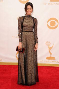 Aubrey Plaza- 2013 Emmy Awards