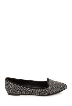 Studded Faux Suede Loafers   FOREVER21 - 2000102698