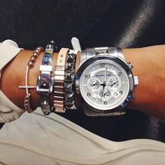 Found my new arm candy @Michael Dussert Dussert Dussert Kors watch