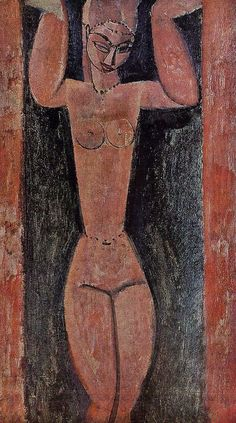 Caryatid : Amedeo Modigliani : Museum Art Images : Museuma