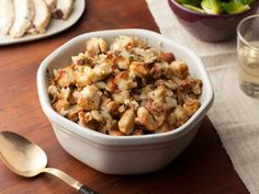 Herb & Apple Stuffing  #barefootcontessa   #holidayentertaining You can pick your apples and eat them too!  Core Club and 24/7 Gym dishes out healthy and delicious Autumn apple recipes. CoreClubLLC.com #coreclubllc #fitness #health #healthyfood #healthyrecipes #autumnrecipes #autumn #recipes #applerecipes #apple #orchard #delicious #food