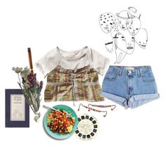 """""""Motherless Child"""" by love4yu ❤ liked on Polyvore featuring H&M, Gathering Eye and Levi's"""