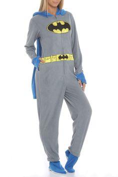 Superman / SuperGirl Black Onesie Footie Pajama with Cape ...