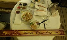 Perfect dinner and desert..)