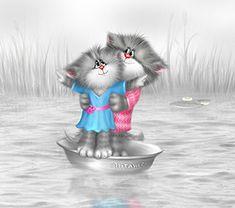 "marinni: Картинки и коты от lj user ""xenopus"""