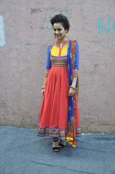 Kangana Ranaut has a blast on India's Got Talent. #Style #Bollywood #Fashion #Beauty