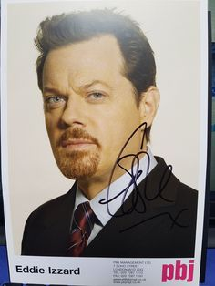 #EddieIzzard Eddie Izzard, Postcard Size, How To Raise Money, Kendall, Fictional Characters, Fantasy Characters