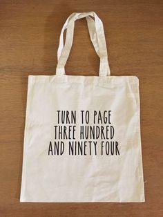 Snape Quote Tote Bag | 21 Harry Potter School Supplies That Will Make You A Total Hermione