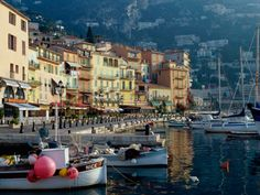 Beautiful Ville Franche sur Mer...a gorgeous seaside resort in the South of France. Visited there in 2008, and found it to be an ideal location to travel to other nearby lovely locales like Nice, Cannes and Monaco.