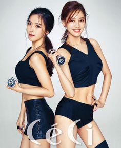 Jaekyung and Hyunyoung